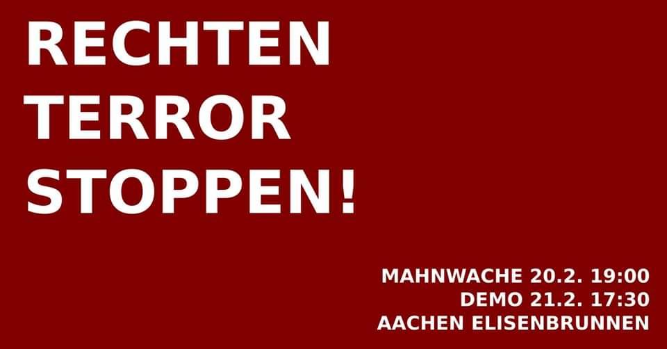 Demo: Rechten Terror stoppen! 1