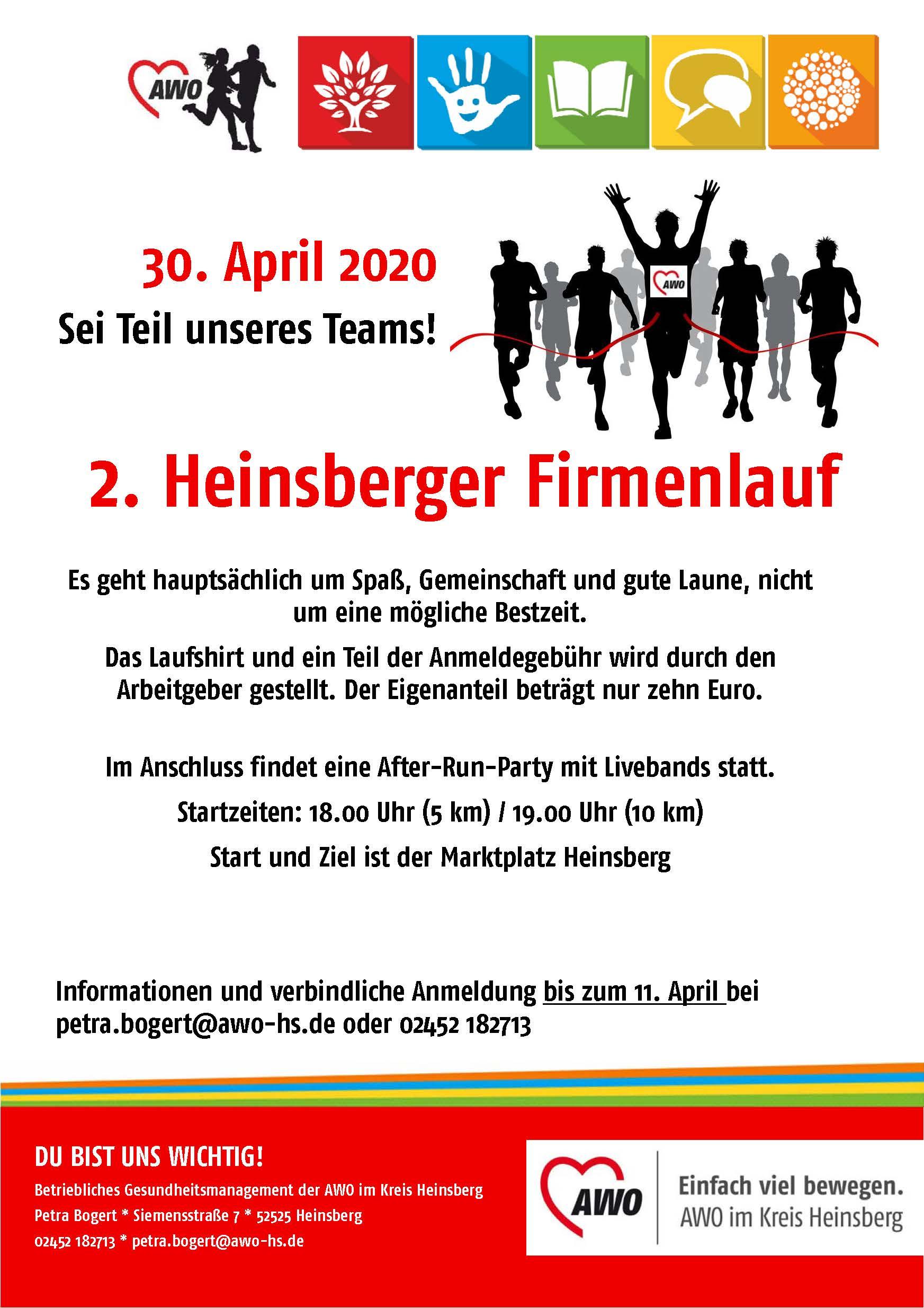 2. Heinsberger Firmenlauf wird verschoben 1