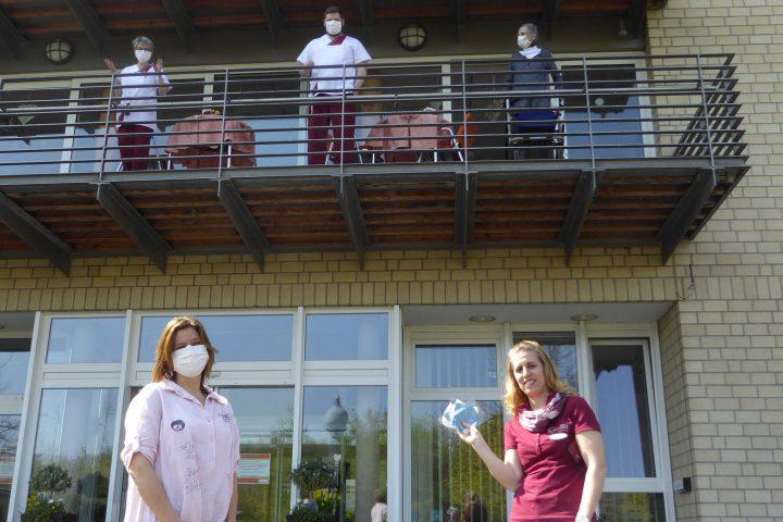 Herzapotheke spendet AWO-Carolus-Seniorenzentrum Atemschutzmasken 9