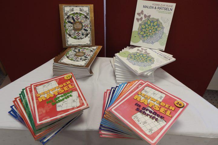 Rätselhefte und Malbücher für das AWO-Altenzentrum Heinsberg 6