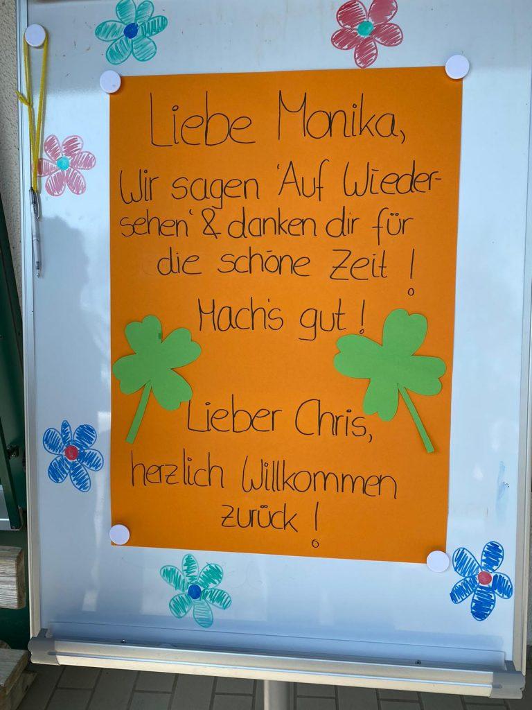 Monika Krumrey nach 26 Jahren Erziehertätigkeit bei der AWO mit Wehmut verabschiedet 3