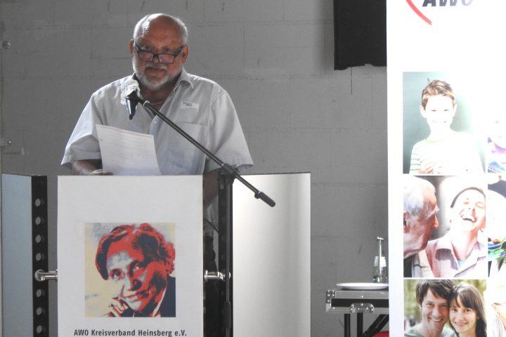 Wir leben Solidarität – bei der Kreiskonferenz der AWO im Kreis Heinsberg wird Bernd Reibel als Vorsitzender bestätigt 2
