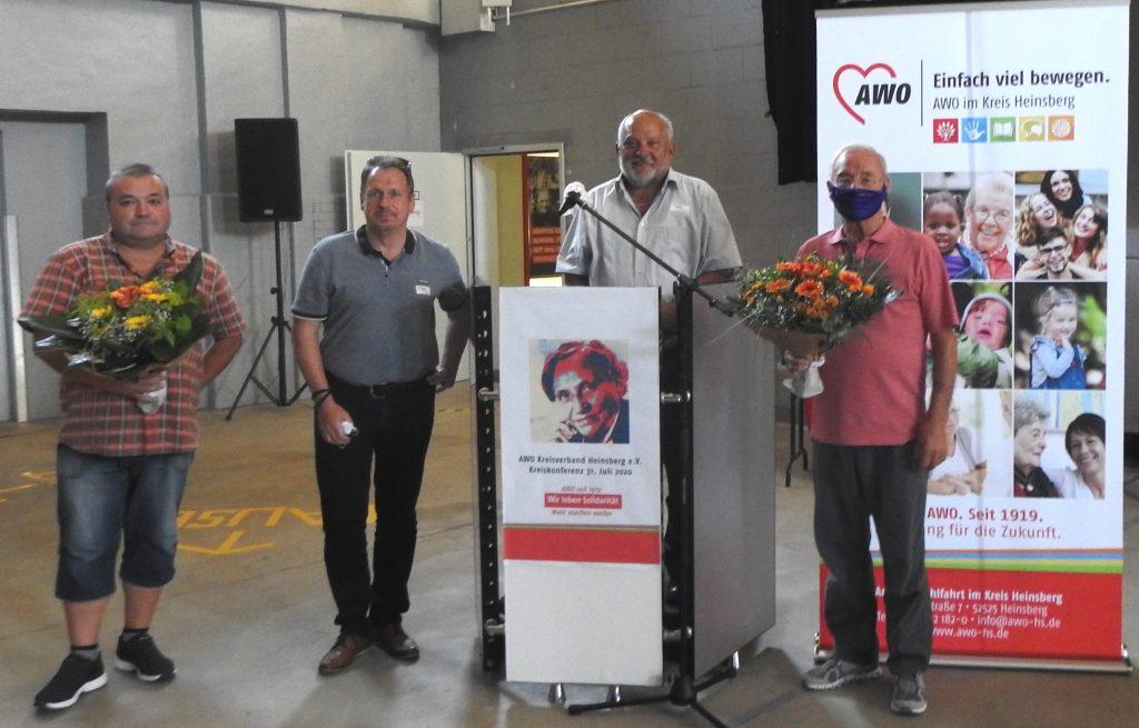 Wir leben Solidarität – bei der Kreiskonferenz der AWO im Kreis Heinsberg wird Bernd Reibel als Vorsitzender bestätigt 3