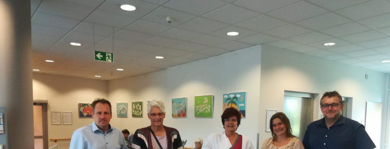 """Das Leitungsteam """"Pflege"""" gratuliert zur erfolgreich bestandenen Weiterbildung 3"""