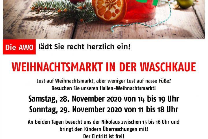 Der AWO-Weihnachtsmarkt 2020 in der Waschkaue (Übach-Palenberg) wird abgesagt 10