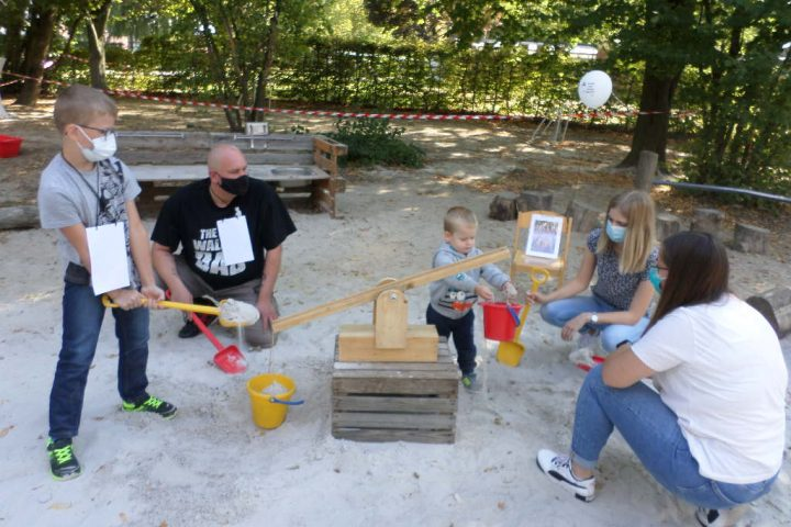 Spiel und Spaß bei der Familienaktion in der AWO-Kita Übach 6