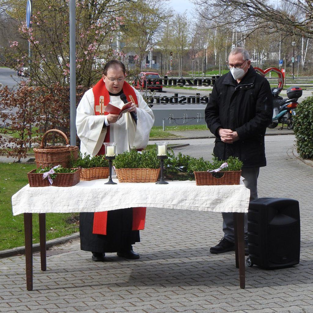 Vorösterliche Palmweihe im AWO-Altenzentrum Heinsberg 2