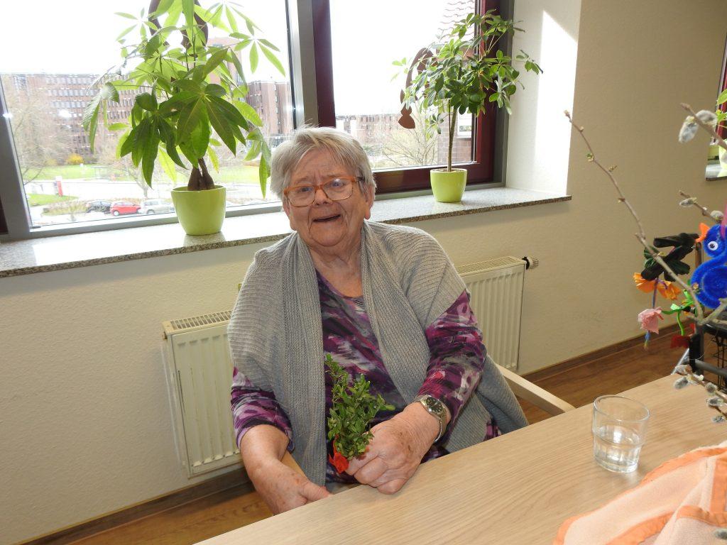Vorösterliche Palmweihe im AWO-Altenzentrum Heinsberg 4