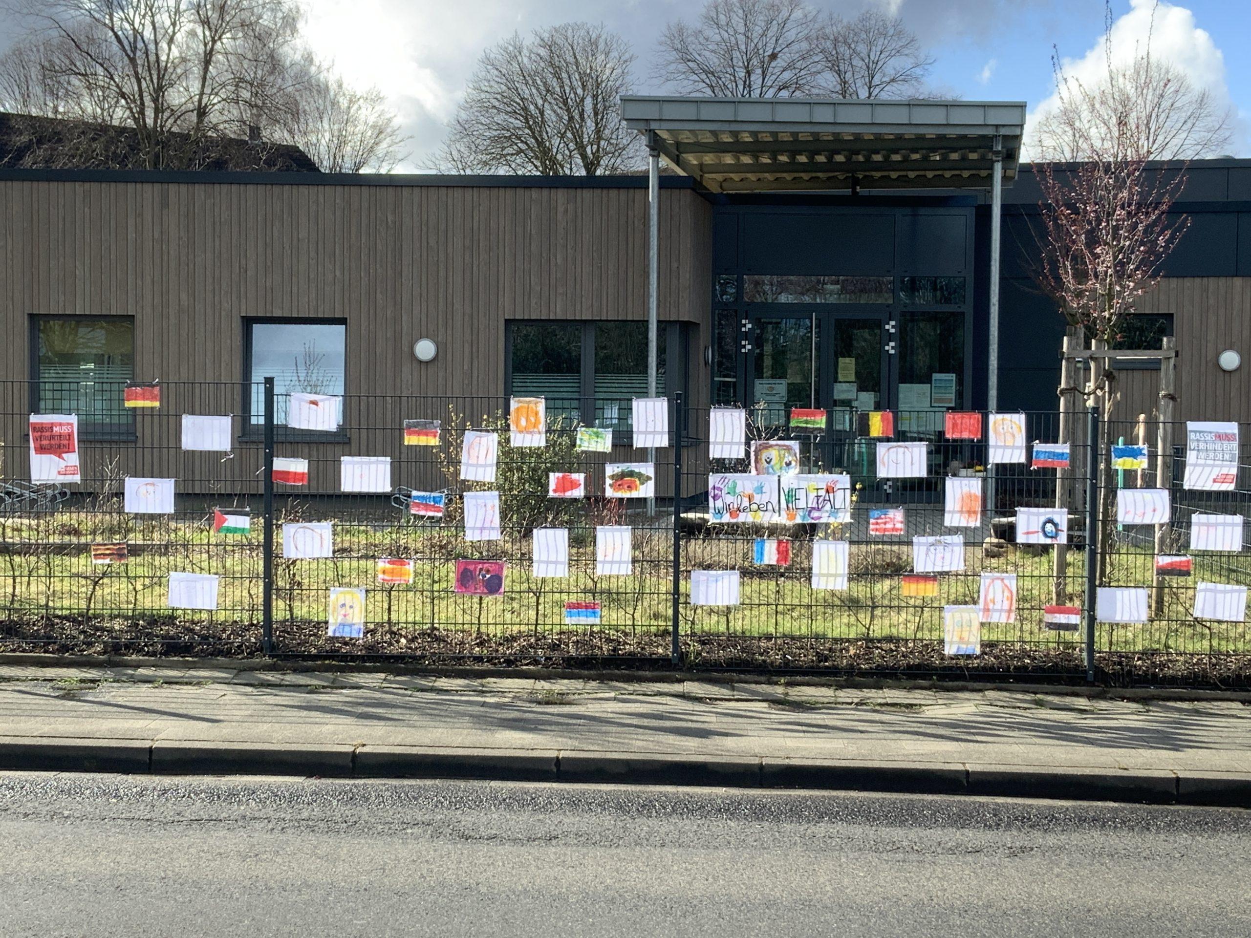 AWO gegen Rassismus - AWO-Kitas im Kreis Heinsberg setzten deutliche Zeichen 1
