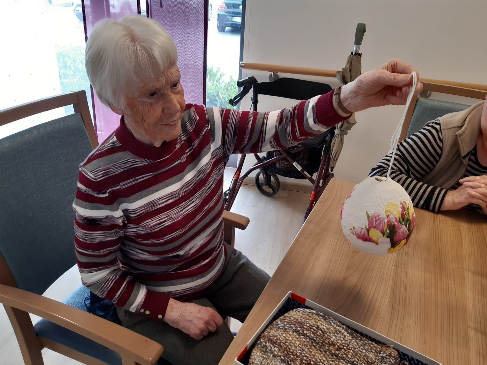 Kreatives Osterbasteln in der AWO-Tagespflege Heinsberg 1