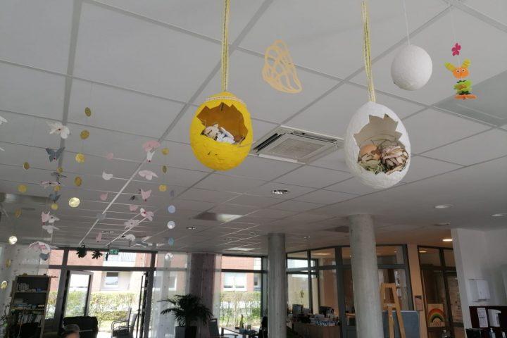 Kreatives Osterbasteln in der AWO-Tagespflege Heinsberg 8