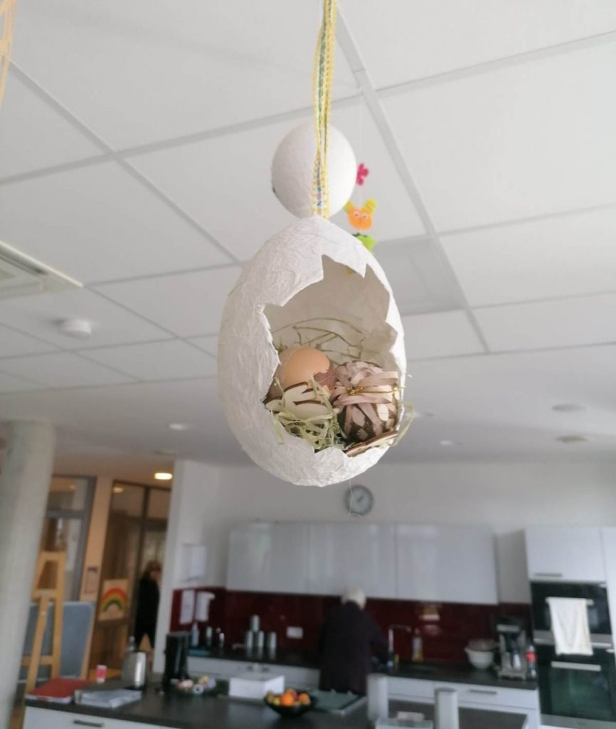 Kreatives Osterbasteln in der AWO-Tagespflege Heinsberg 10