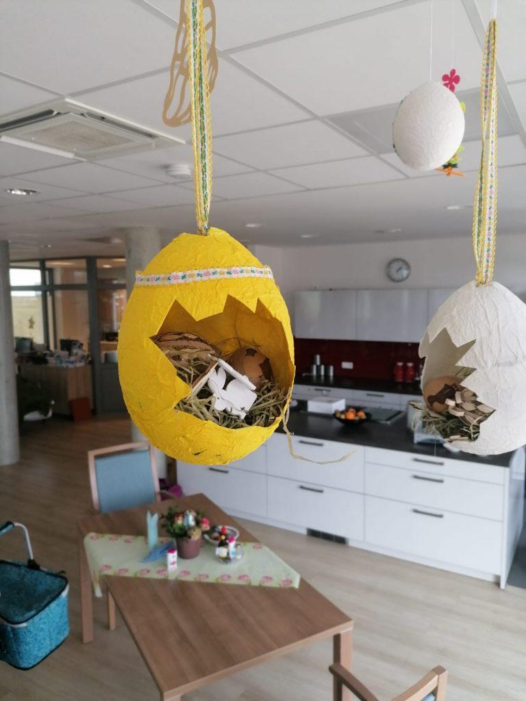 Kreatives Osterbasteln in der AWO-Tagespflege Heinsberg 11