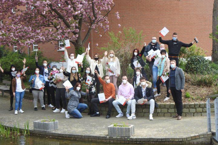Altenpflege-Examen an der IPS in Heinsberg 1