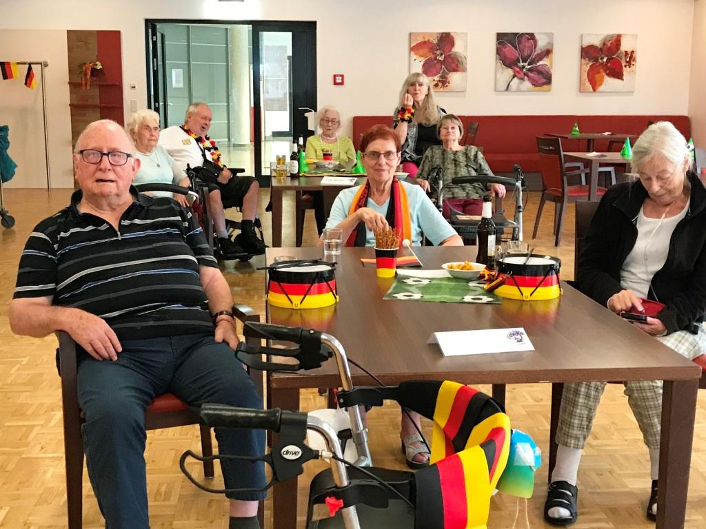 DFB-Team verliert trotz Unterstützung der Bewohner*innen vom AWO-Altenzentrum Heinsberg 6