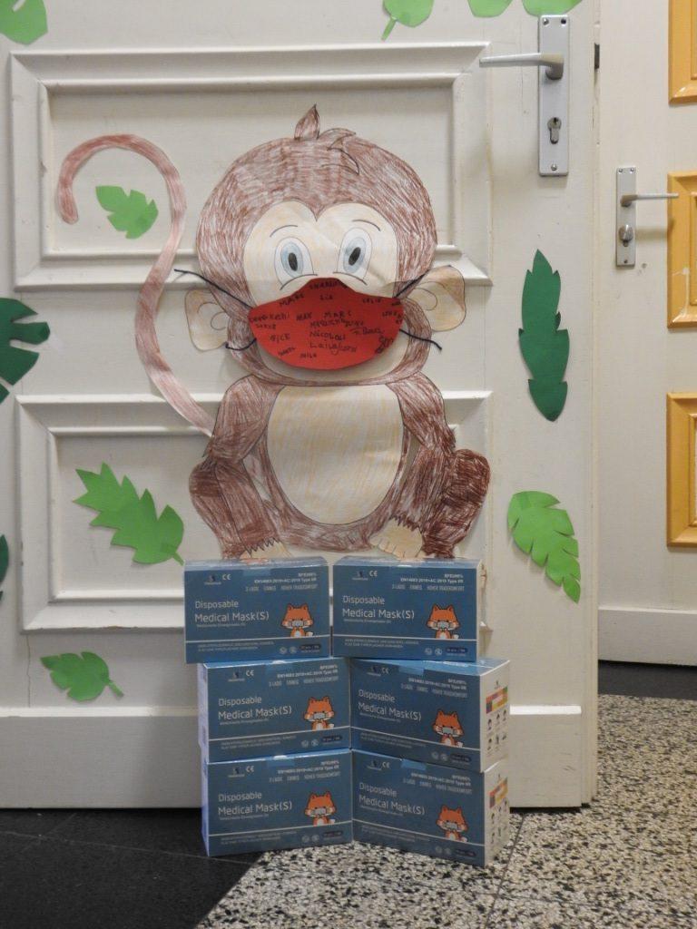 """AWO-Ortsvereine beteiligten sich an der Spendenaktion """"Kindermasken"""" für Offene Ganztagsschulen 2"""