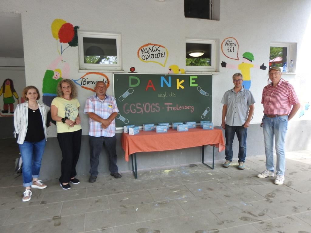 """AWO-Ortsvereine beteiligten sich an der Spendenaktion """"Kindermasken"""" für Offene Ganztagsschulen 7"""