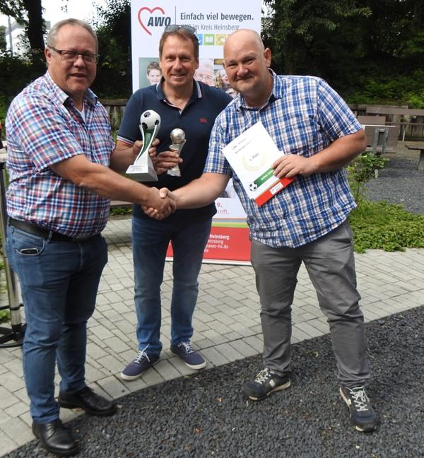 Sieger des AWO-Bundesliga-Tippspiels wurden geehrt 2