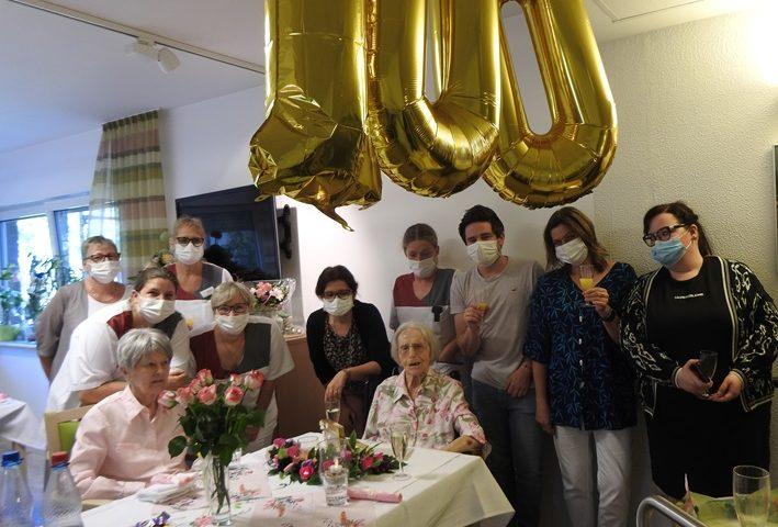 Wir gratulieren zum 100. Geburtstag 1