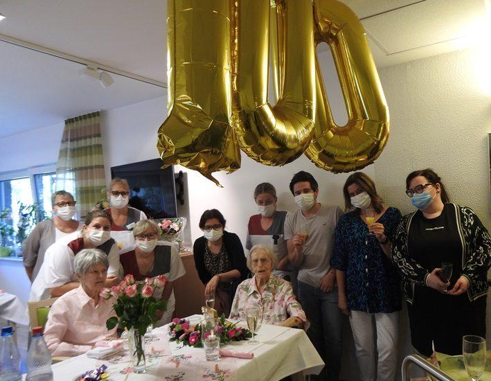 Wir gratulieren zum 100. Geburtstag 6