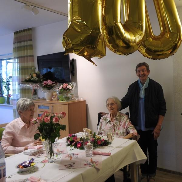 Wir gratulieren zum 100. Geburtstag 3