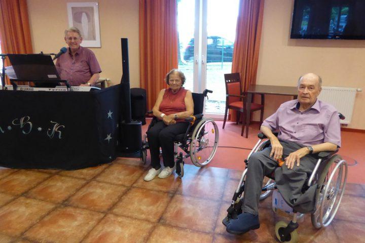Die musikalischen Nachmittage in AWO–Einrichtungen nehmen wieder Fahrt auf 2