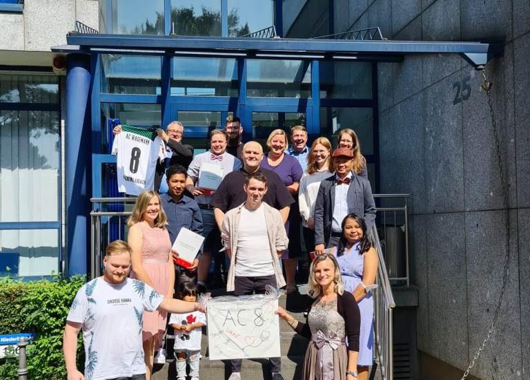 Examensfeier der Pflegeschüler*innen am IPS-Standort Aachen 6