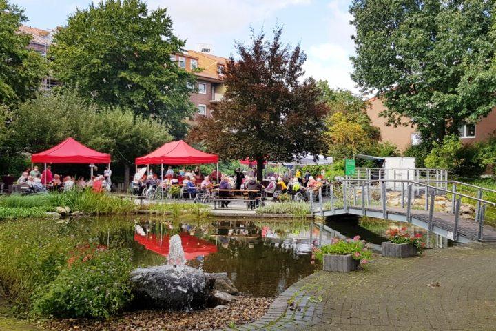 Teichfest am Altenzentrum Heinsberg - Sogar die Sonne war zu Gast 3