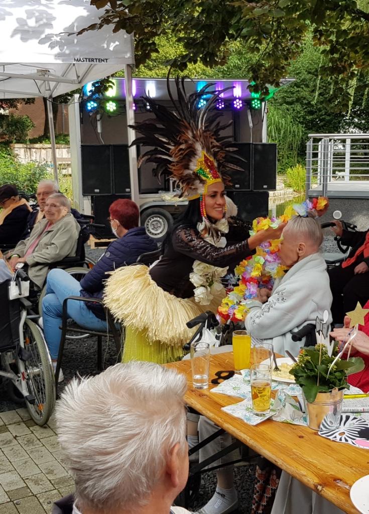 Teichfest am Altenzentrum Heinsberg - Sogar die Sonne war zu Gast 7