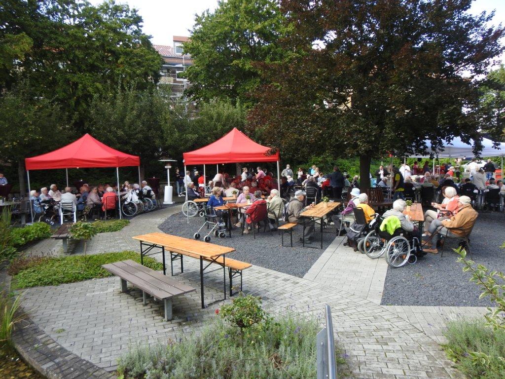Teichfest am Altenzentrum Heinsberg - Sogar die Sonne war zu Gast 18