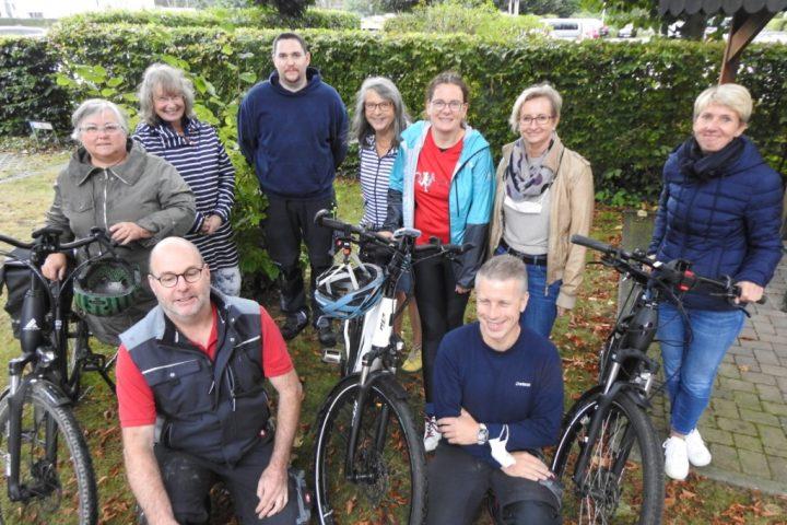 """Das Team der AWO holt bei der Challenge """"Stadtradeln – Radeln für ein gutes Klima"""" den ersten Platz im Stadtgebiet Heinsberg 1"""