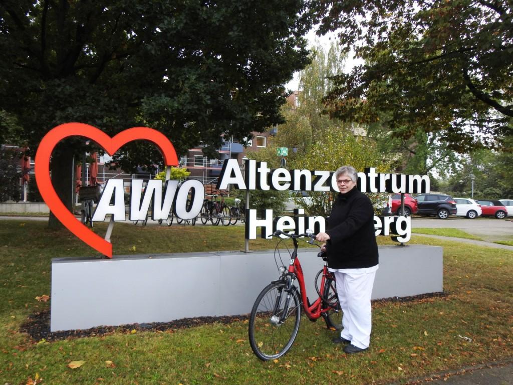 """Das Team der AWO holt bei der Challenge """"Stadtradeln – Radeln für ein gutes Klima"""" den ersten Platz im Stadtgebiet Heinsberg 5"""